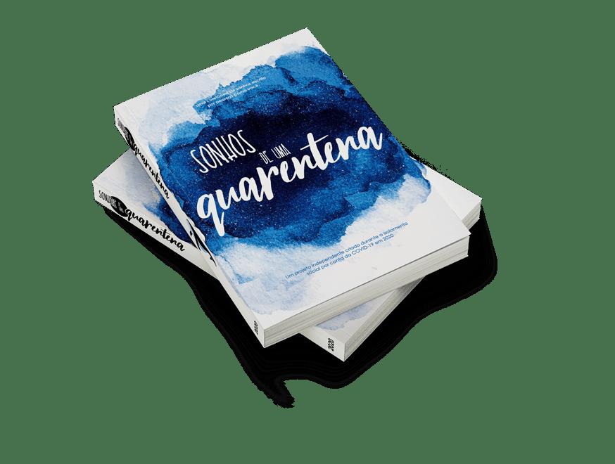 Sonhos de uma Quarentena - Capa livro